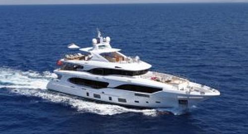 Launched! Benetti 116 Mediterraneo Oli