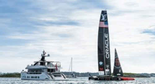 Dynamiq Jetsetter at the America's Cup