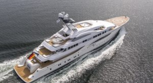 Lürssen confirms 85-metre Areti for Monaco Yacht Show