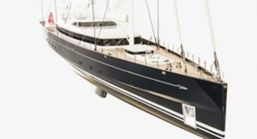 Royal Huisman begins build of world's largest aluminium yacht