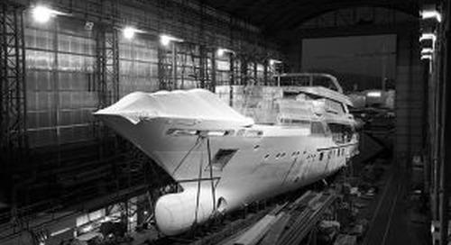 "Construction of motoryacht ""Blake"" is underway"