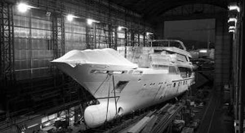 "Construction of motoryacht ""Blake"" is underway"