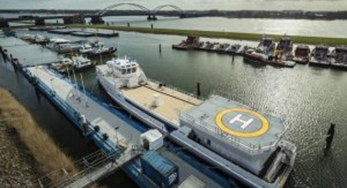 'Game Changer' hits the water