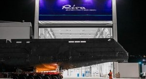 First Riva superyacht debuts
