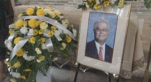 Funeral Service held for former Senator Dr. John Salas