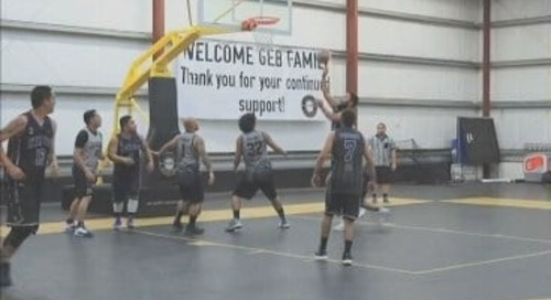 Guam basketball & running highlights