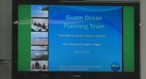 Guam Ocean Planning Team meets with mayors