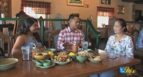 The News Feed: Nick and Carmen head to Ban Thai for a spicy meal!