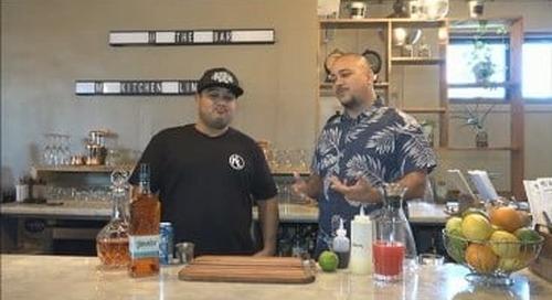 At the Bar: Chris Barnett gets a cocktail lesson from Kitchen Lingo