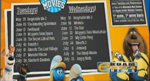 Free movies for the summer at Tango Theatres