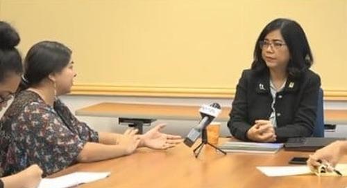 Dr. Anita Enriquez meets stakeholders