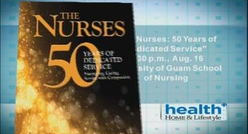 New book looks back at 50 years of UOG's nursing school