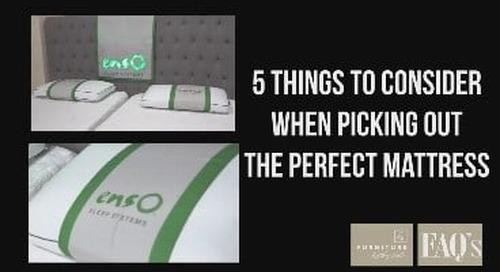 Choosing the perfect mattress