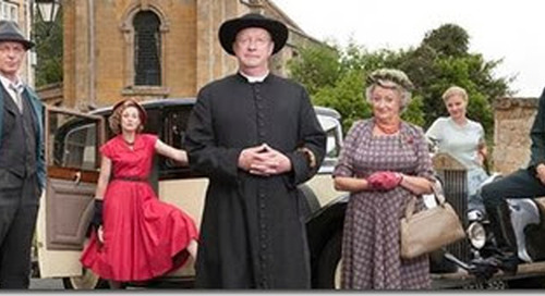 """Father Brown:"" Just another drama about a priest solving mysteries. Have you been watching?"