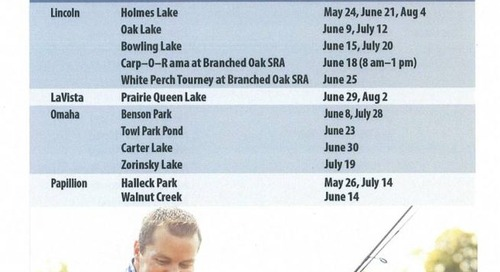 2016 Family Fishing Events