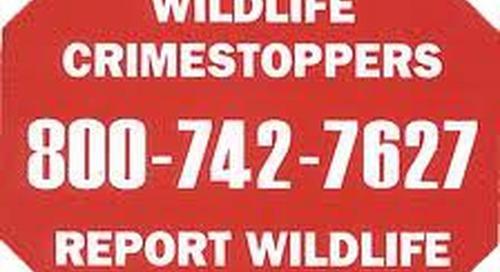 Nebraska Wildlife Crimestoppers