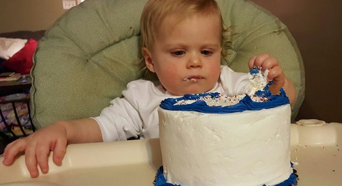 An Open Letter to My Grandson on His First Birthday