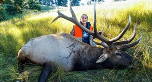 Seward girl's bull elk more than just a state record