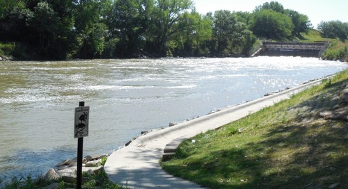 NEWS FLASH!  Attention Central Nebraska Canal Anglers