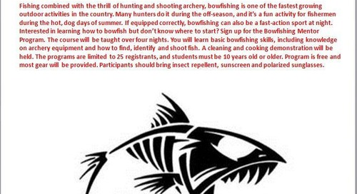 Learn to Bowfish!