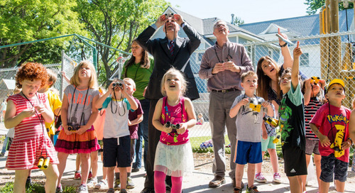 Governor celebrates Nebraska Bird Month with preschoolers