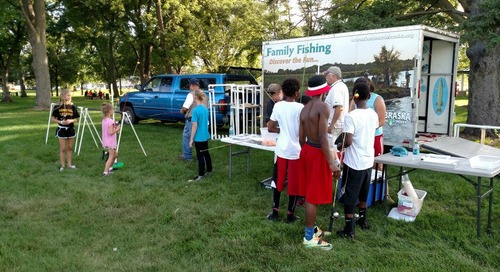 Family Fishing Events 2017