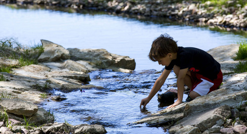 New interactive Crawdad Creek open at Platte River State Park