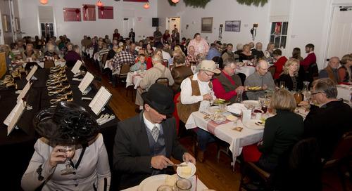Fort Robinson Christmas Dinner has 1939 theme