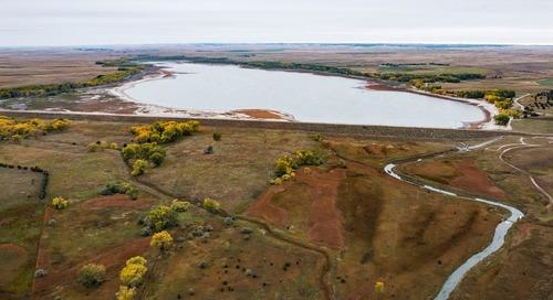 Dam Repairs at Box Butte