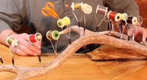 Make your own Tool-Holding Antler