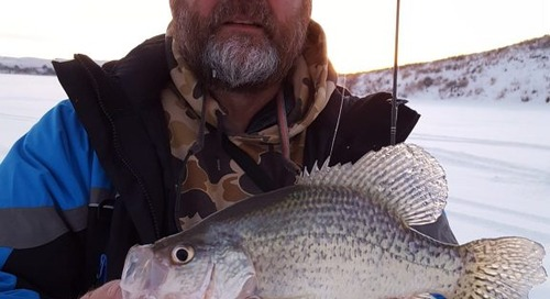 Nebraska Ice-Fishing on Jason Mitchell Outdoors, Part Two
