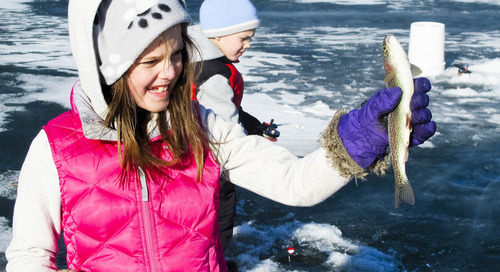 Three Family Ice Fishing clinics scheduled in January