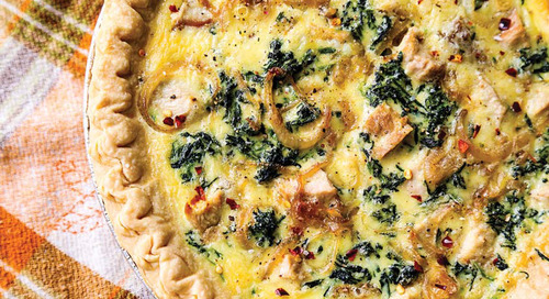 Pheasant and Sausage Quiche