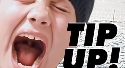 Tip-Up Hook Keeper