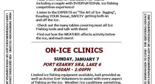 Ice Fishing Clinics 2018