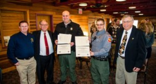 Commission recognizes conservation officers, approves reduced-price restricted deer permit
