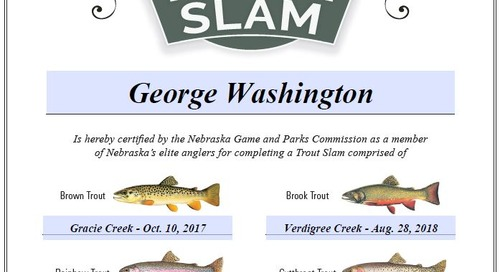 Trout Slam Update