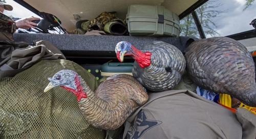 UNL Loans Hunting Equipment
