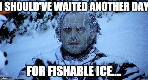 Annual Ice Safety Reminder