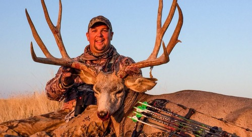 Michigan hunter bags trophy mule deer