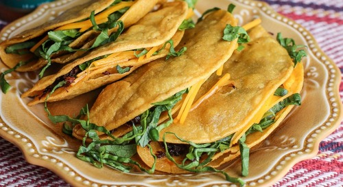Wild Turkey Fried Tacos