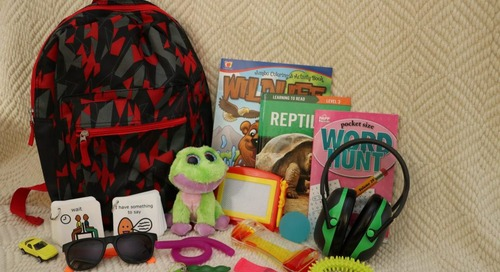 Sensory backpacks introduced at Wildcat Hills