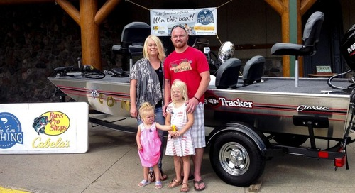 Nebraska Game and Parks announces grand prize winner of Take 'Em Fishing Challenge