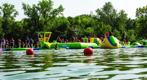 Louisville SRA floating playground to reopen July 17