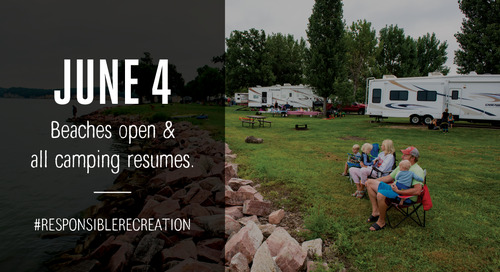 Game and Parks to restore all camping and swim beaches beginning June 4