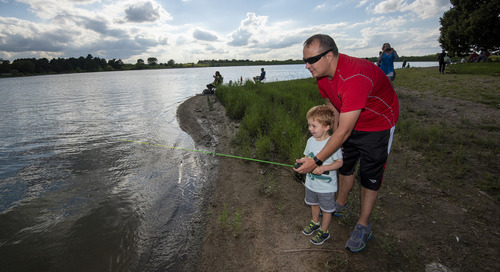 Accept Take 'em Fishing Challenge for chance to win prizes