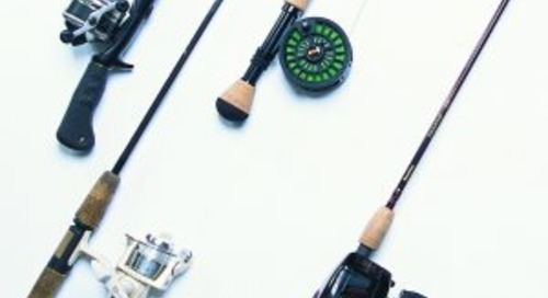 Beginner angler's guide to rod, reel and line