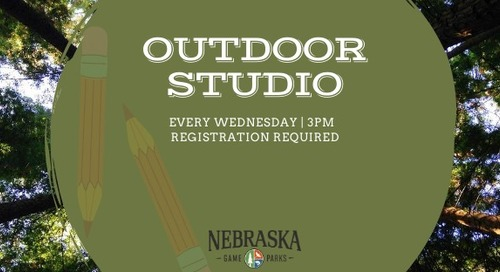 Explore creativity with Schramm Education Center Outdoor Studio series