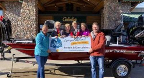 Columbus man wins boat in Take 'em Fishing challenge