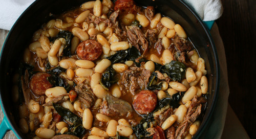 Duck with Beans Recipe